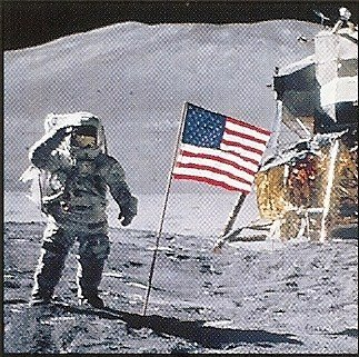 neil armstrong on the moon 1969 - photo #8